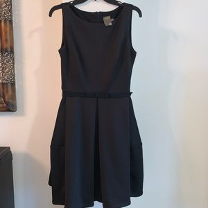 Semi formal black dress. Perfect for the holidays.